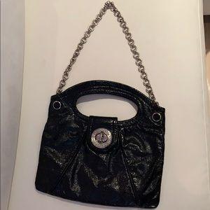 Marc by Marc Jacobs Black Patent Bag
